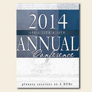 Annual Conference Plenary Sessions on 4 DVDs