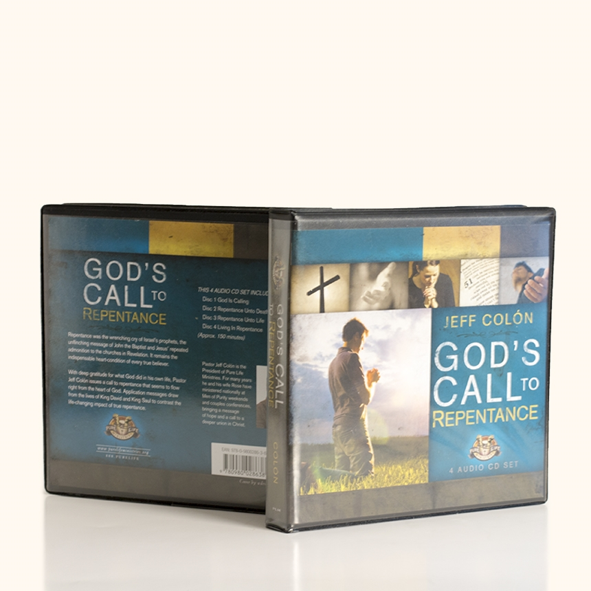 God's Call to Repentance - Audio CD series