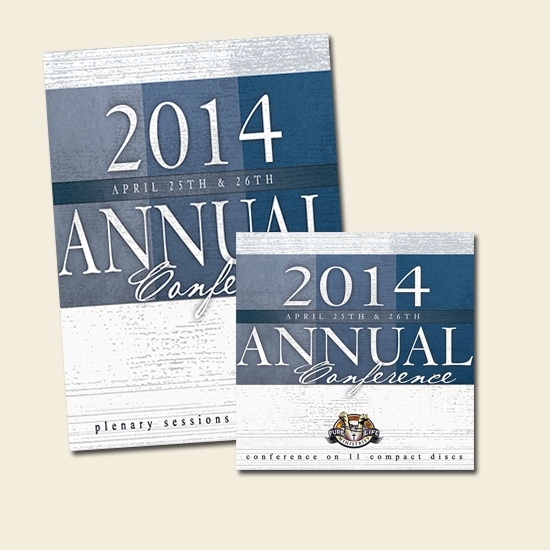 Annual Conference Messages - DVD and Audio CD set combo